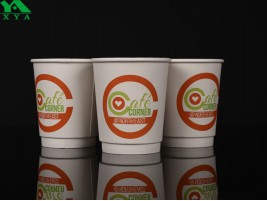 double wall paper cups, insulated paper cups, coffee cups, custom paper cup, kraft coffee cups