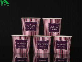 ice cream cups, yogurts cups, snack container, food bucket, hot paper bowls